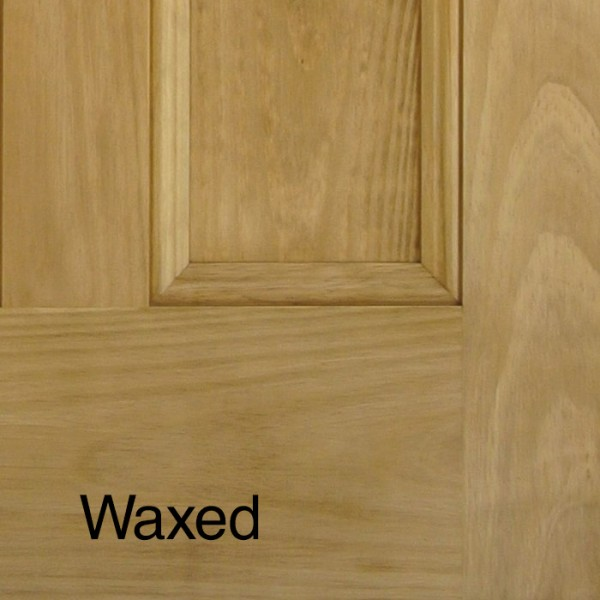 Victorian Pine 4 Panel Door Stained Amp Waxed